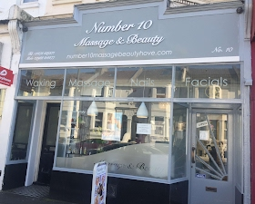 Number 10 Massage & Beauty Entrance